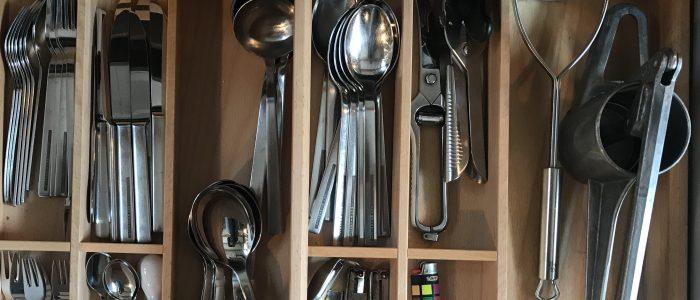 Organisation - der perfekte Griff in die Küchenschublade